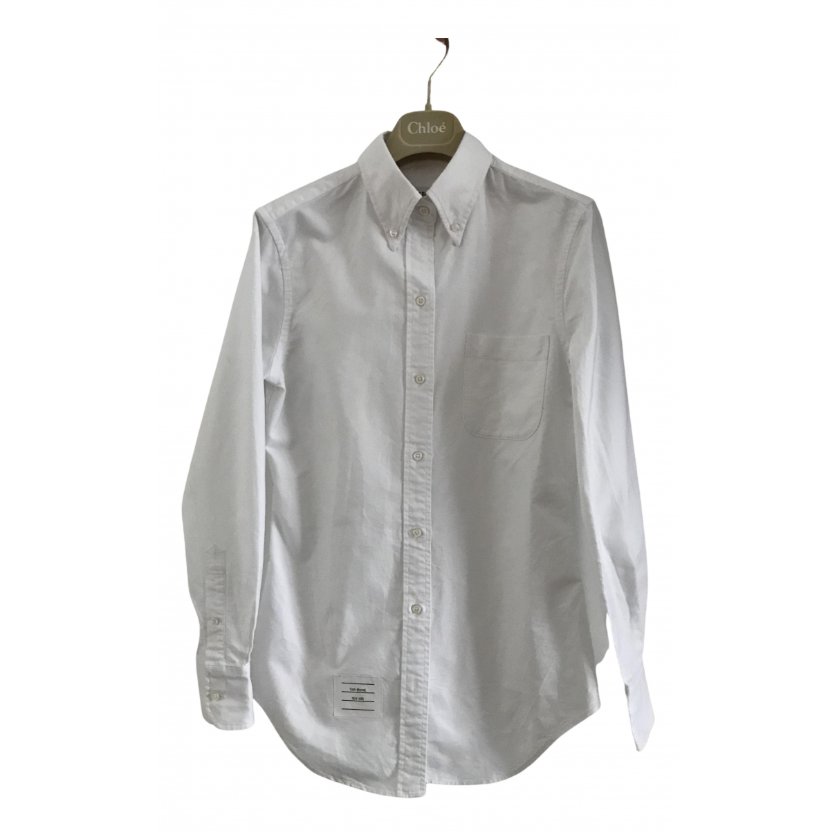 Thom Browne N White Cotton  top for Women 36 FR