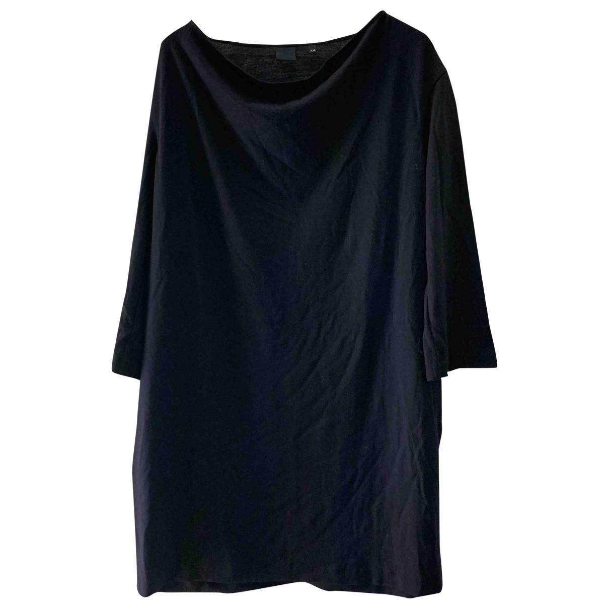 Aspesi \N Kleid in  Blau Wolle