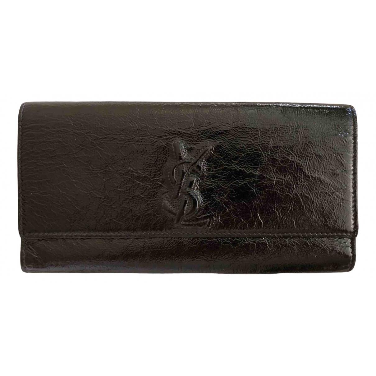 Yves Saint Laurent N Black Patent leather Clutch bag for Women N