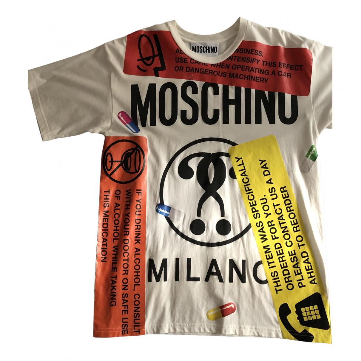 Moschino - Top   pour femme en coton - multicolore
