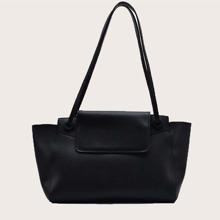 Minimalist Winged Shoulder Bag