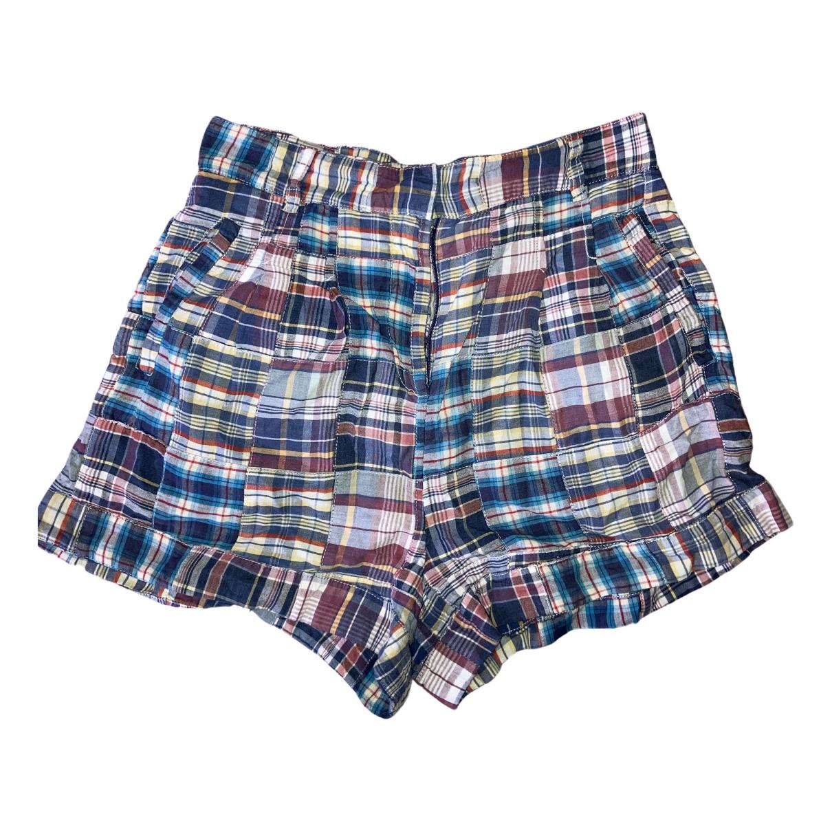 Paul & Joe Sister \N Shorts in  Blau Baumwolle