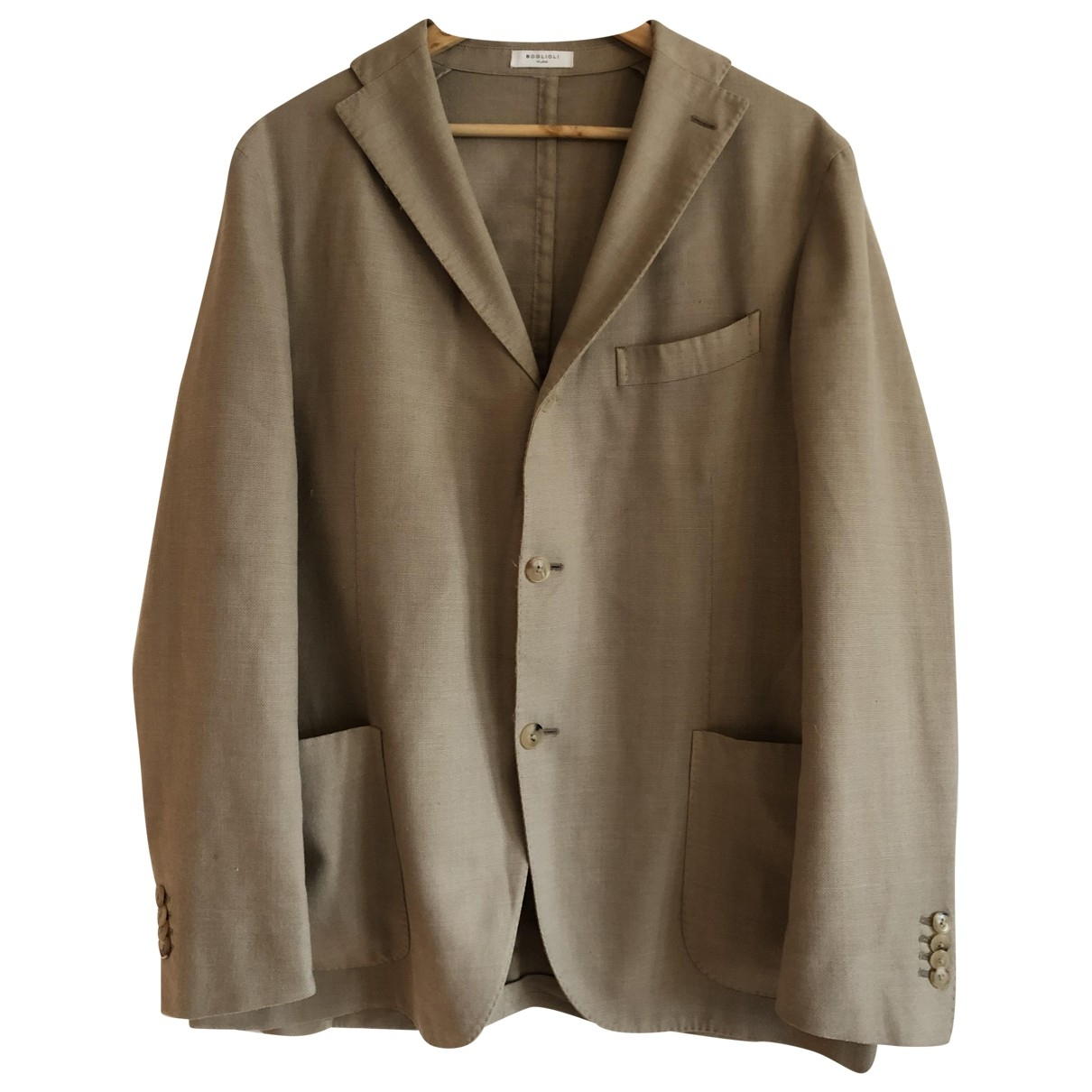 Boglioli \N Beige Wool jacket  for Men 54 IT