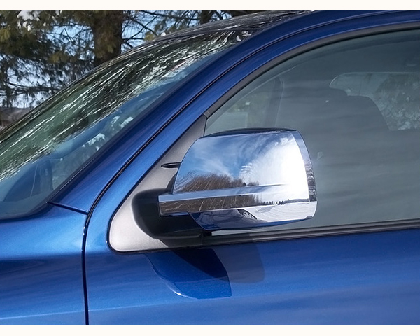 Quality Automotive Accessories Chrome Plated ABS Plastic 2-Piece Mirror Cover Set Toyota Tundra 2009