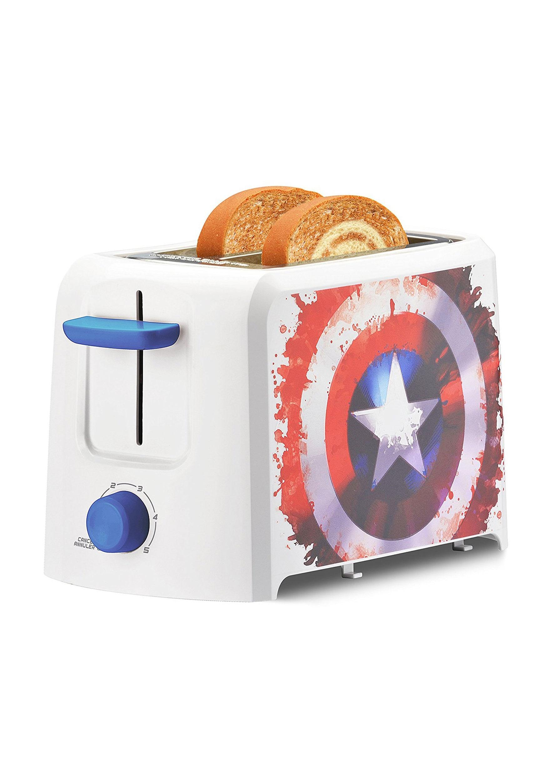 Captain America Marvel 2 Slice Toaster