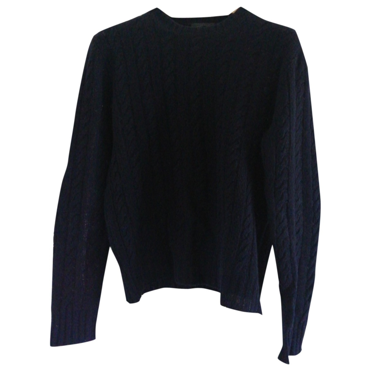 Prada \N Pullover.Westen.Sweatshirts  in  Blau Wolle