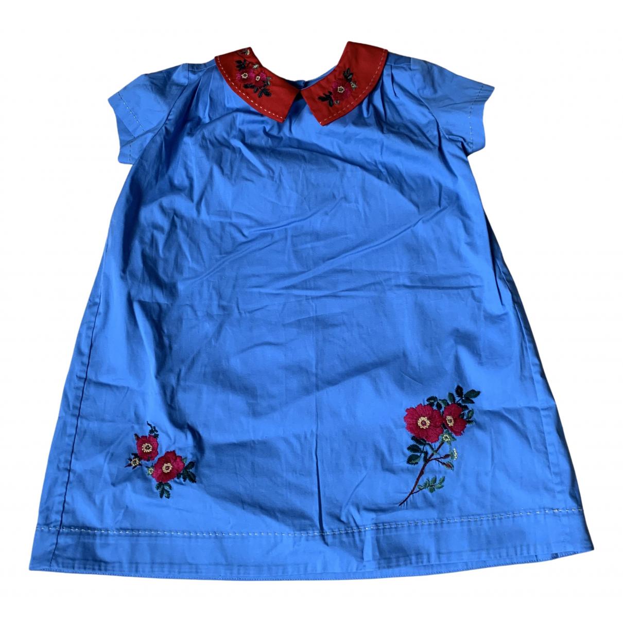Gucci - Robe    pour enfant en coton - bleu