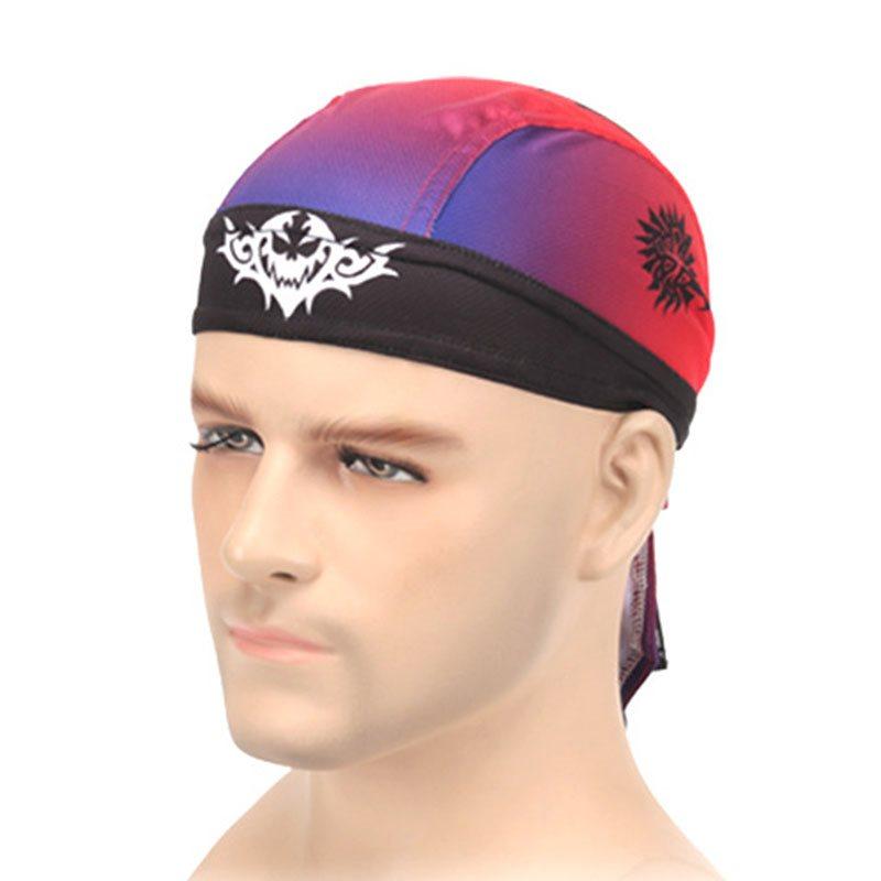 Dragon Tiger Pirate Headscarf Windproof Sweat Absorbent Dustproof