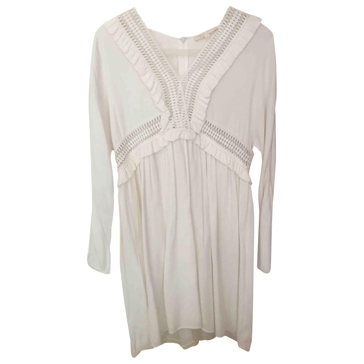 Maje \N White dress for Women 40 FR