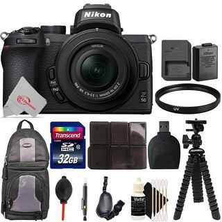 Nikon Z 50 Mirrorless Digital Camera with 16-50mm lens (Camera Bundle)