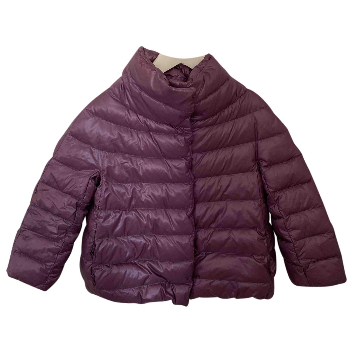 Herno - Blousons.Manteaux   pour enfant - violet