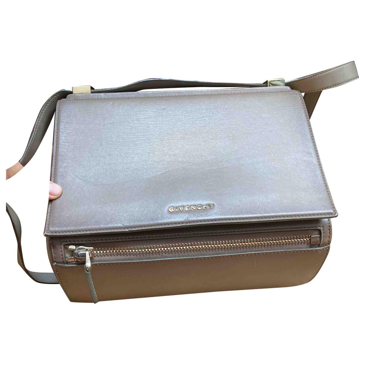 Givenchy Pandora Box Grey Leather handbag for Women N
