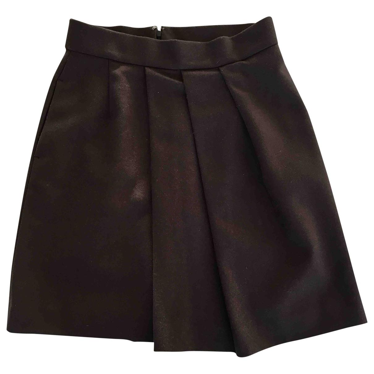 Mini falda de Lana Uniqlo
