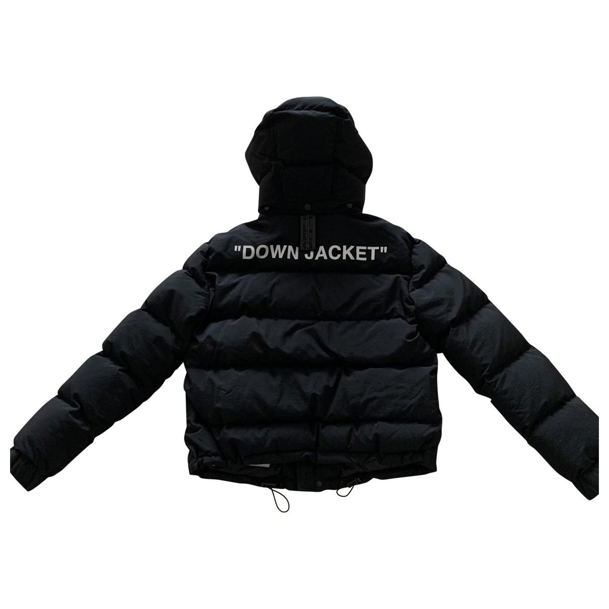 Off-white - Manteau   pour femme - noir