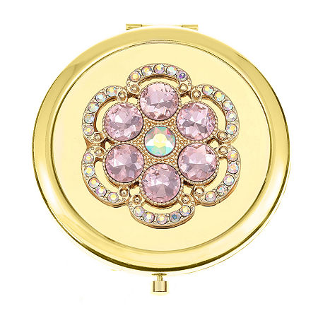 Monet Jewelry Compact Mirror, One Size , Pink