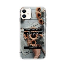 Sunflower Print Phone Case