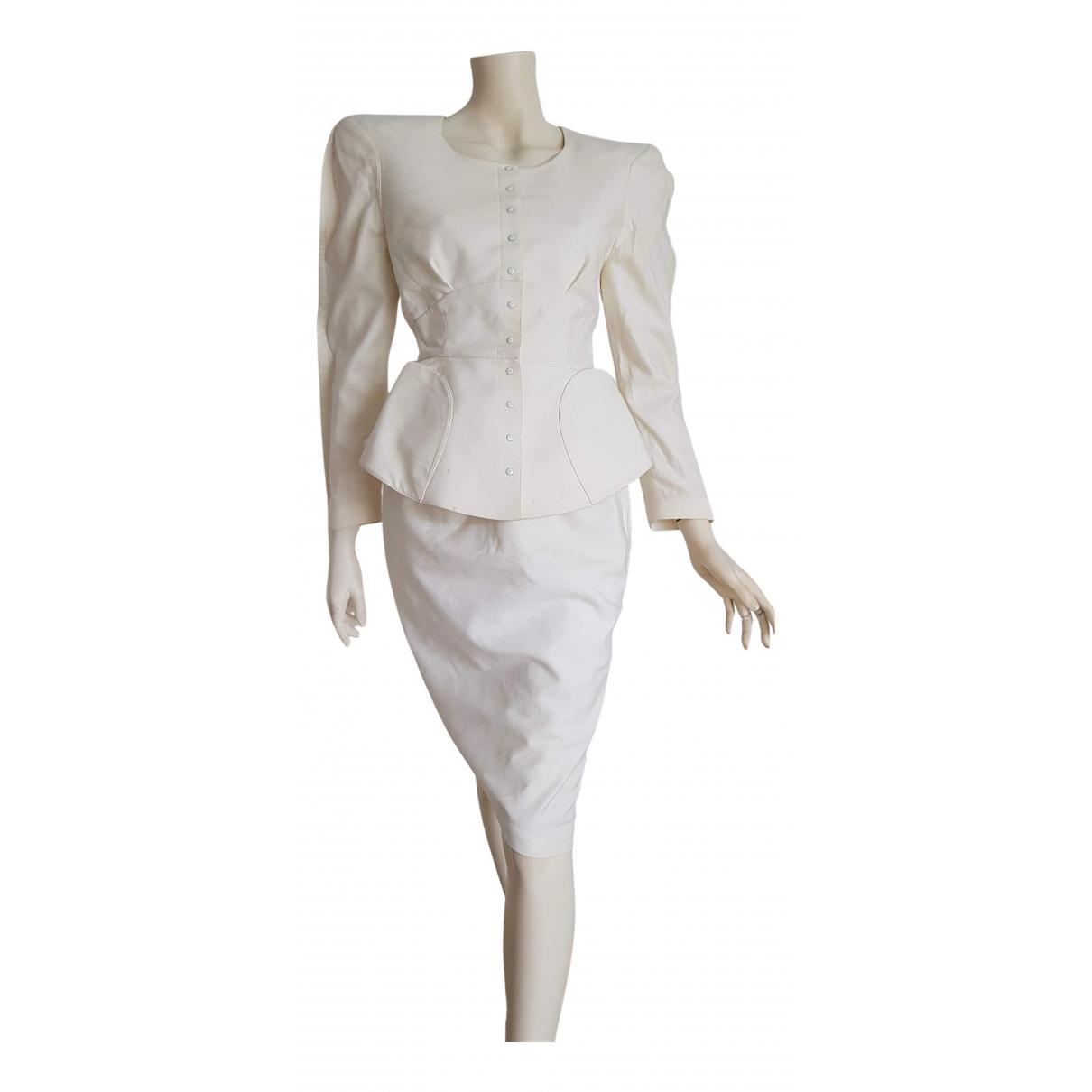 Thierry Mugler N White Cotton jacket for Women S International