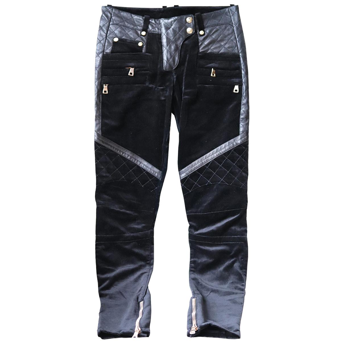 Pantalon de Terciopelo Balmain