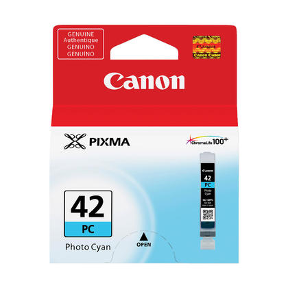 Canon CLI-42PC Original Photo Cyan Ink Cartridge