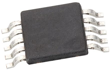 Microchip MCP79511-I/MS, Real Time Clock, 64B RAM Serial-SPI, 10-Pin MSOP (5)