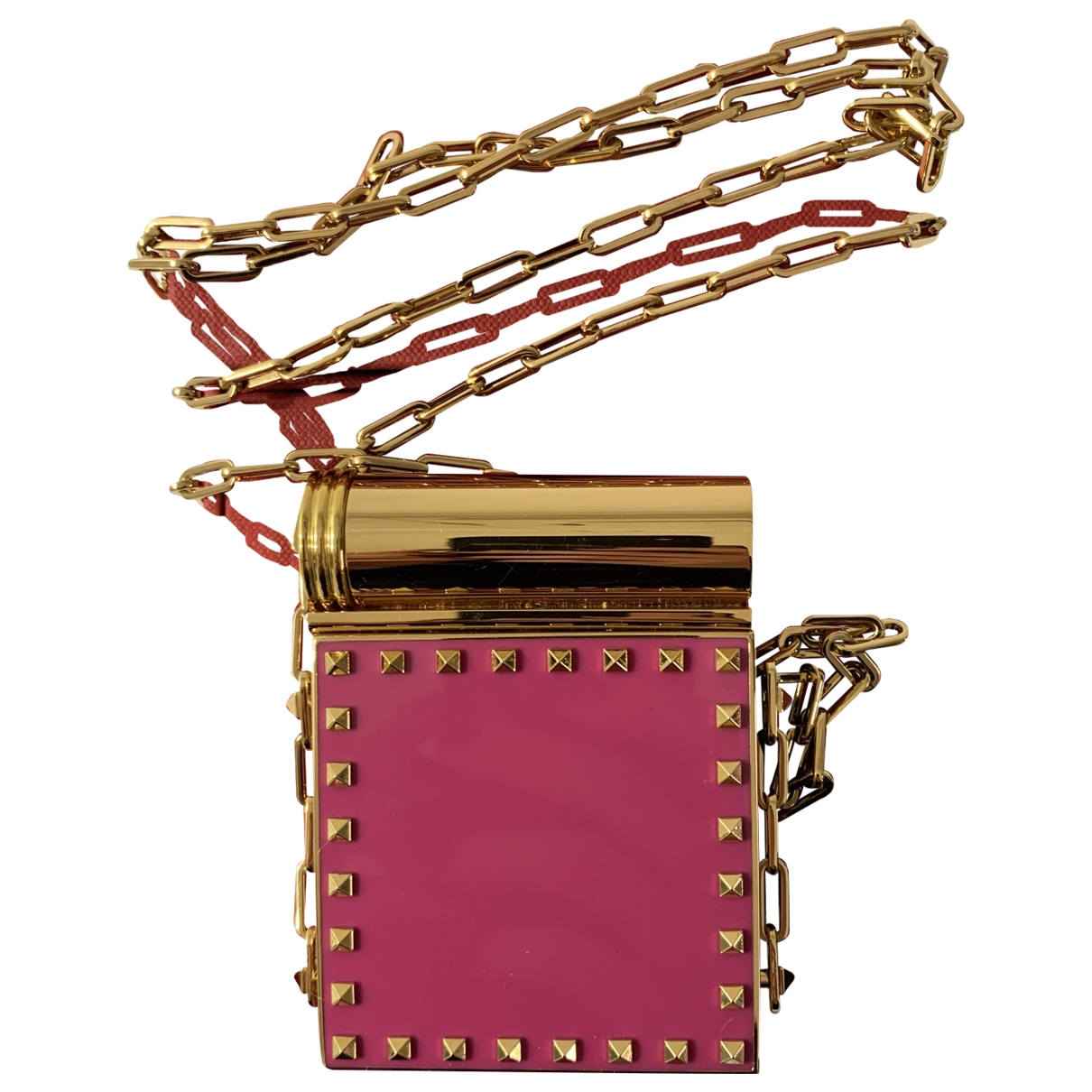 Valentino Garavani - Pochette   pour femme en metal - rose