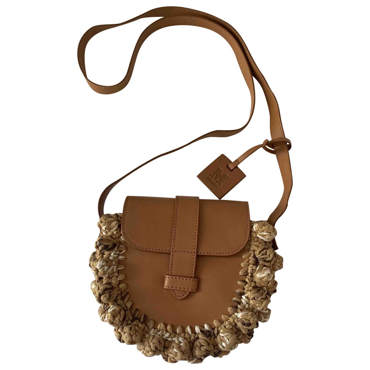 M Missoni \N Handtasche in  Braun Leder