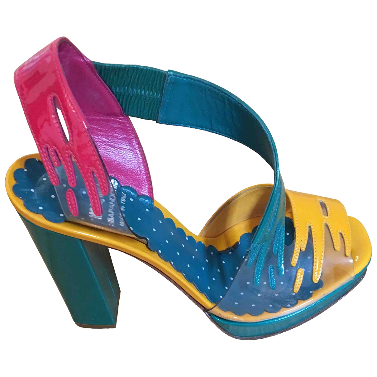 Moschino Cheap And Chic \N Pumps in  Bunt Leder