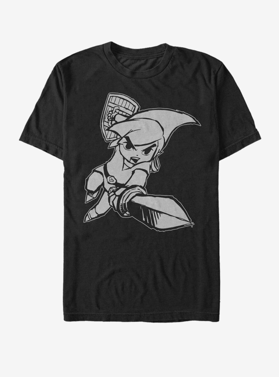Nintendo Legend of Zelda Link Attack T-Shirt