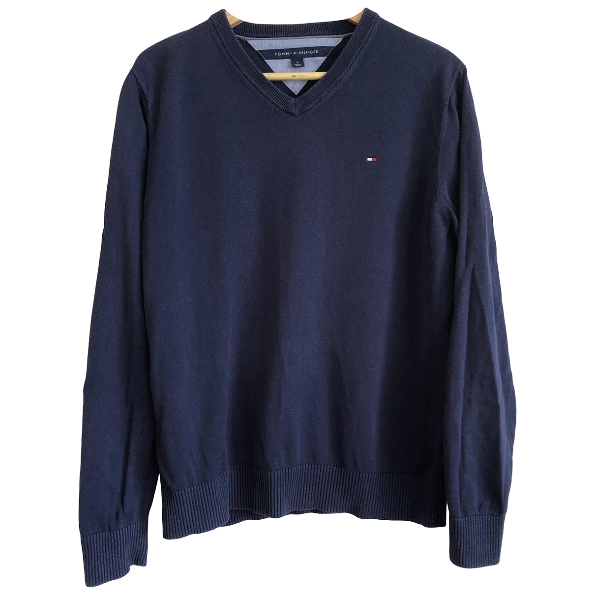 Tommy Hilfiger \N Pullover.Westen.Sweatshirts  in  Marine Baumwolle