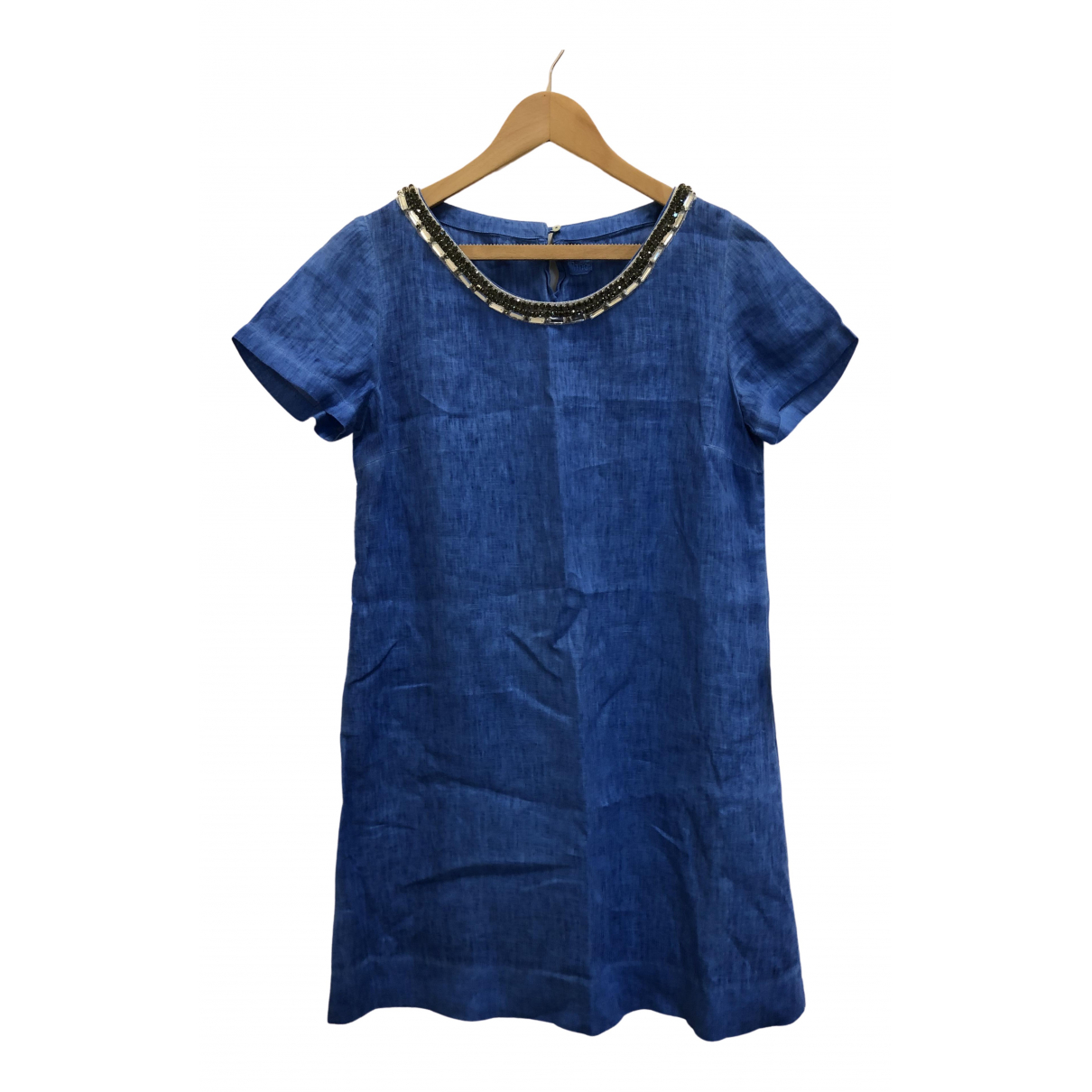 120% Lino \N Blue Linen dress for Women 44 FR