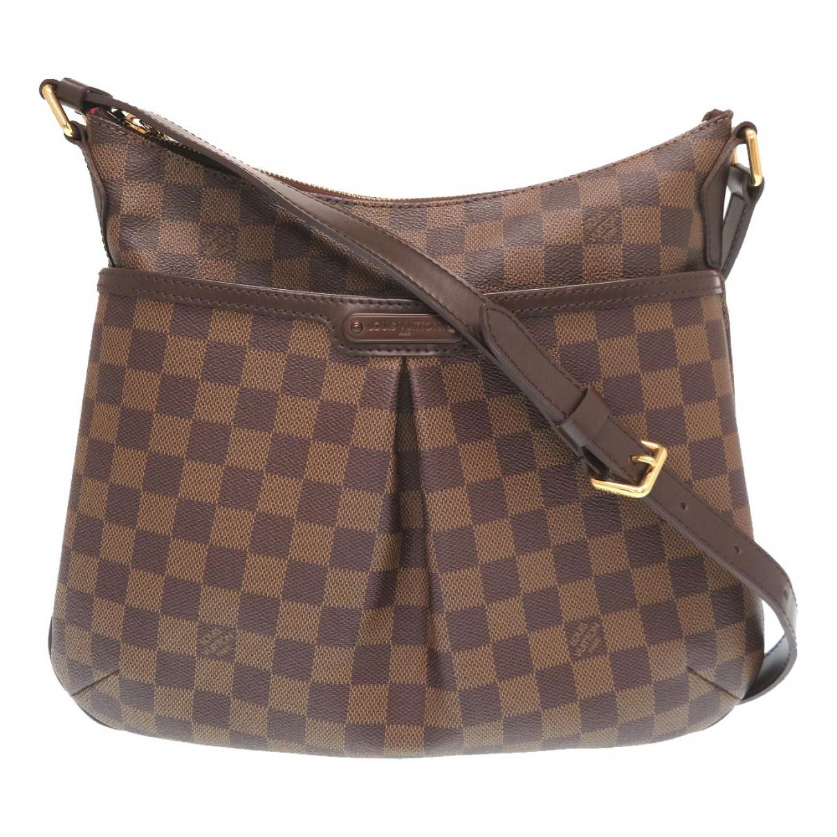 Louis Vuitton Bloomsbury Brown Cloth handbag for Women \N