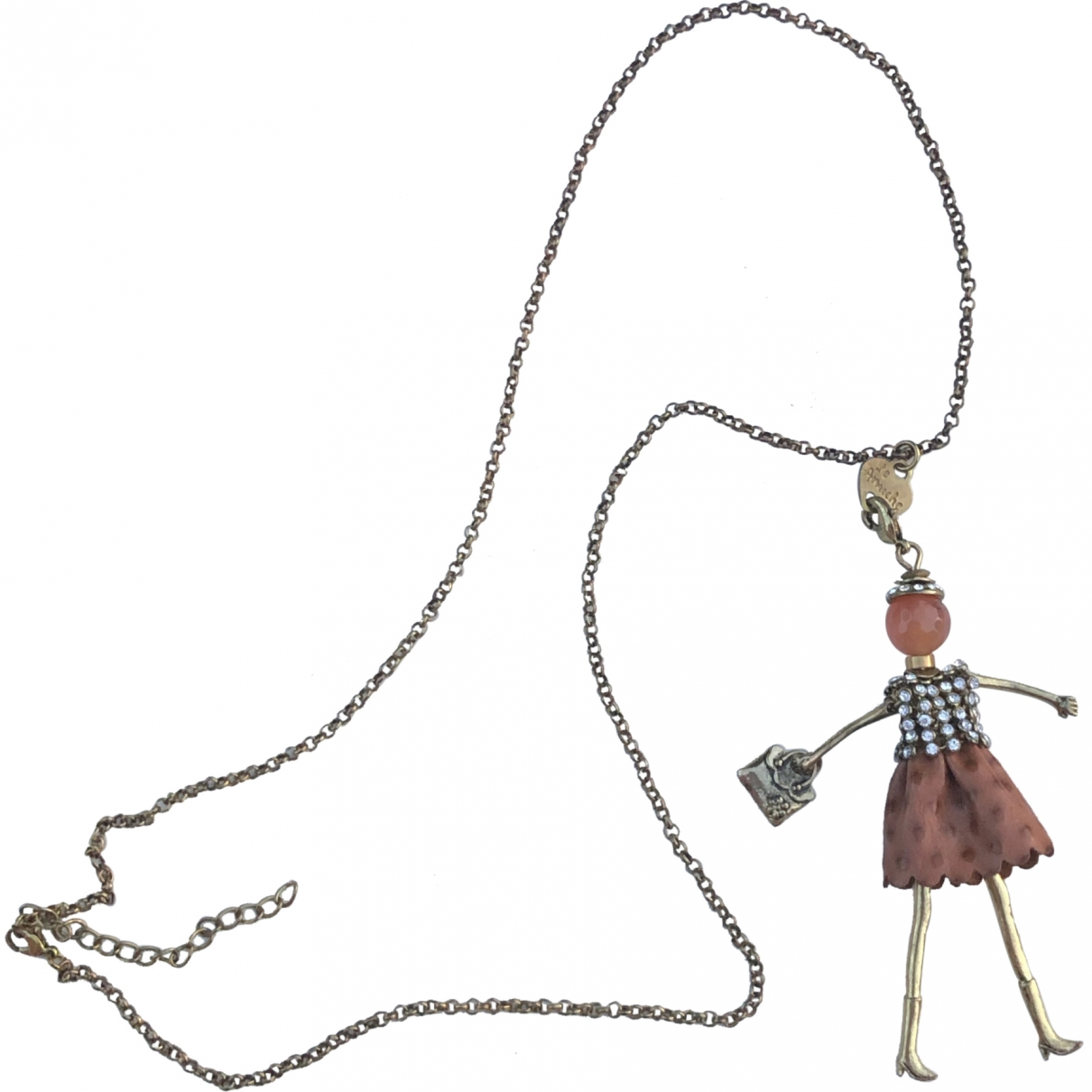 Non Signé / Unsigned \N Metal Long necklace for Women \N