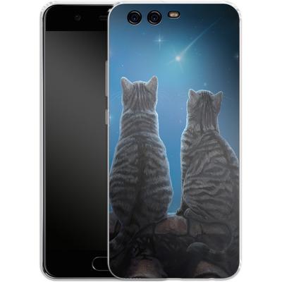 Huawei P10 Silikon Handyhuelle - Wish Upon a Star von Lisa Parker