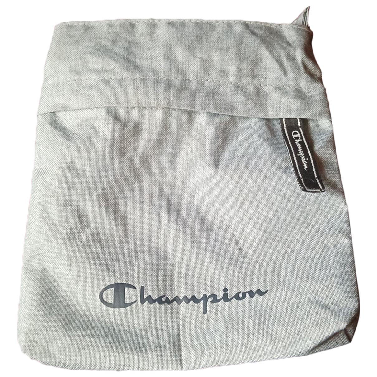 Champion - Petite maroquinerie   pour homme - gris