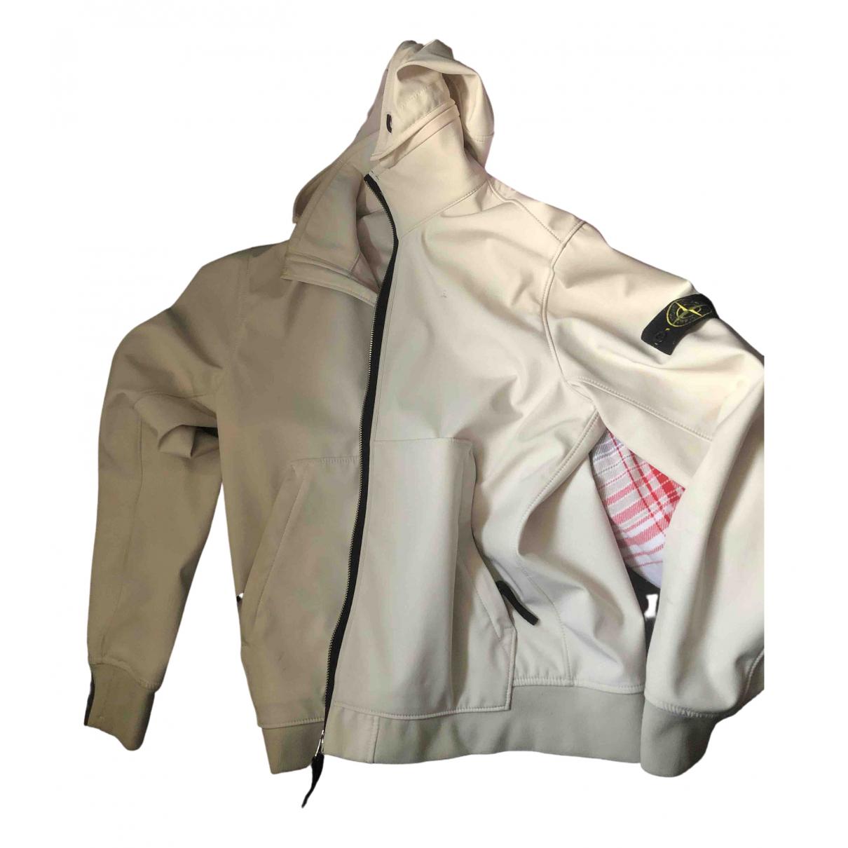 Stone Island \N White jacket  for Men S International