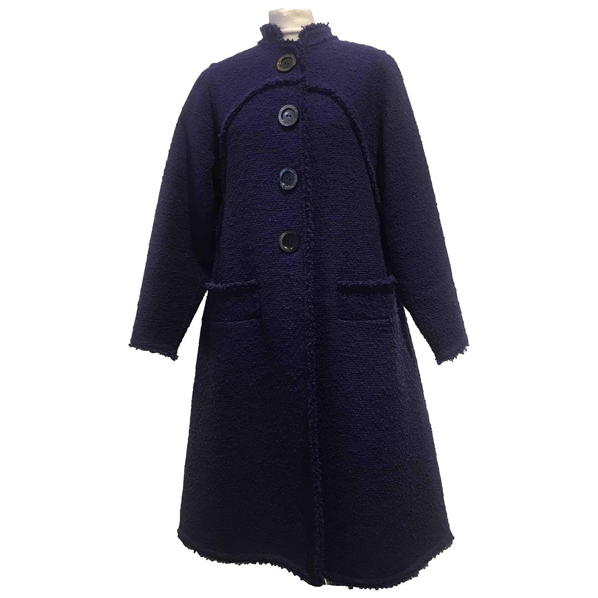 Oscar De La Renta N Purple Wool coat for Women 4 0-5