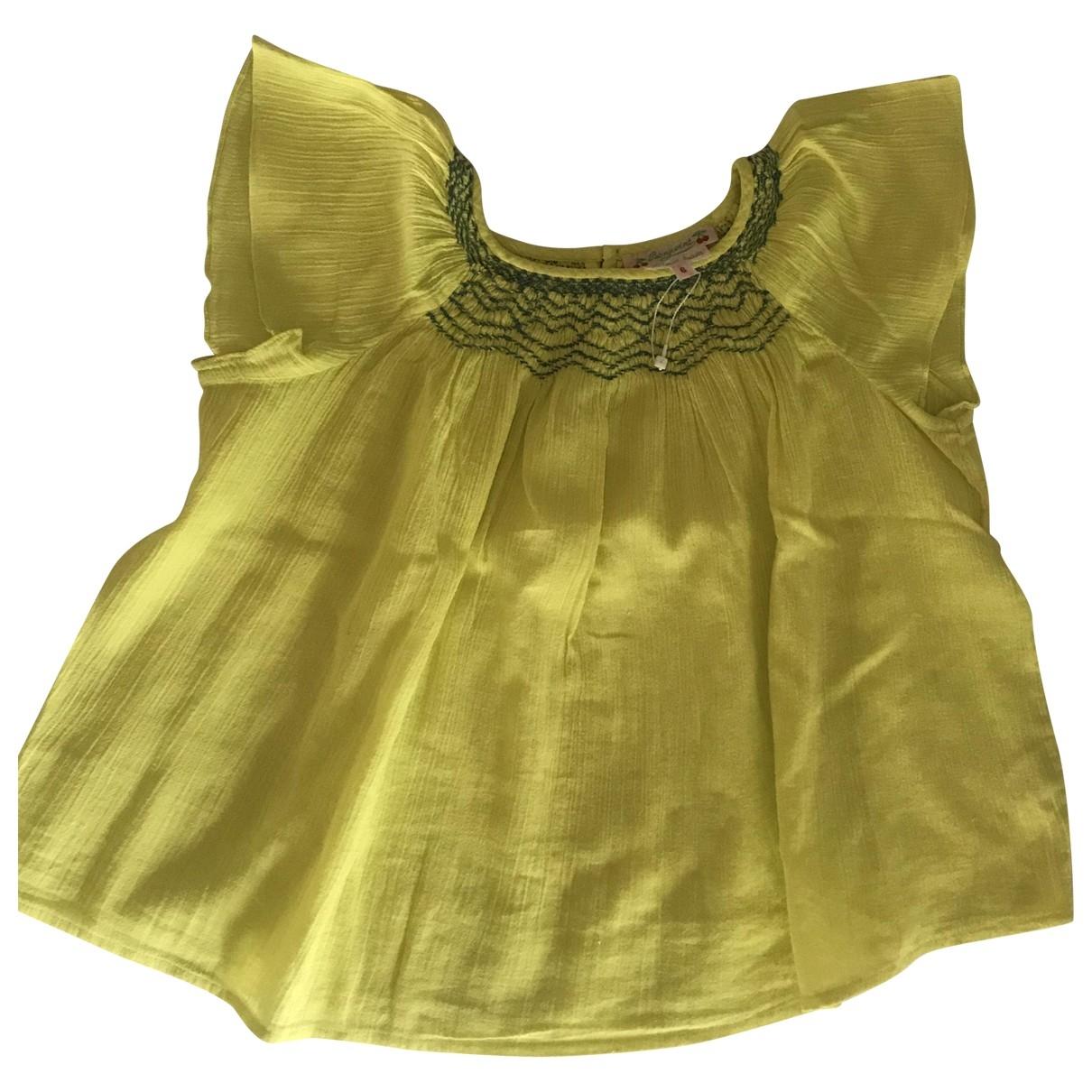 Bonpoint \N Oberteile in  Gelb Baumwolle