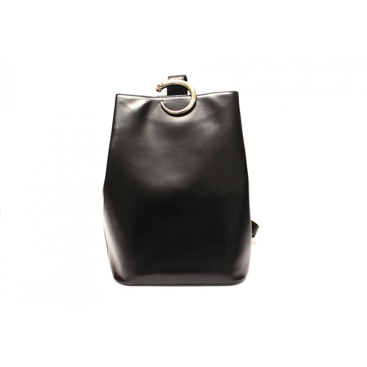 Cartier - Sac a dos Panthere pour femme en cuir - noir