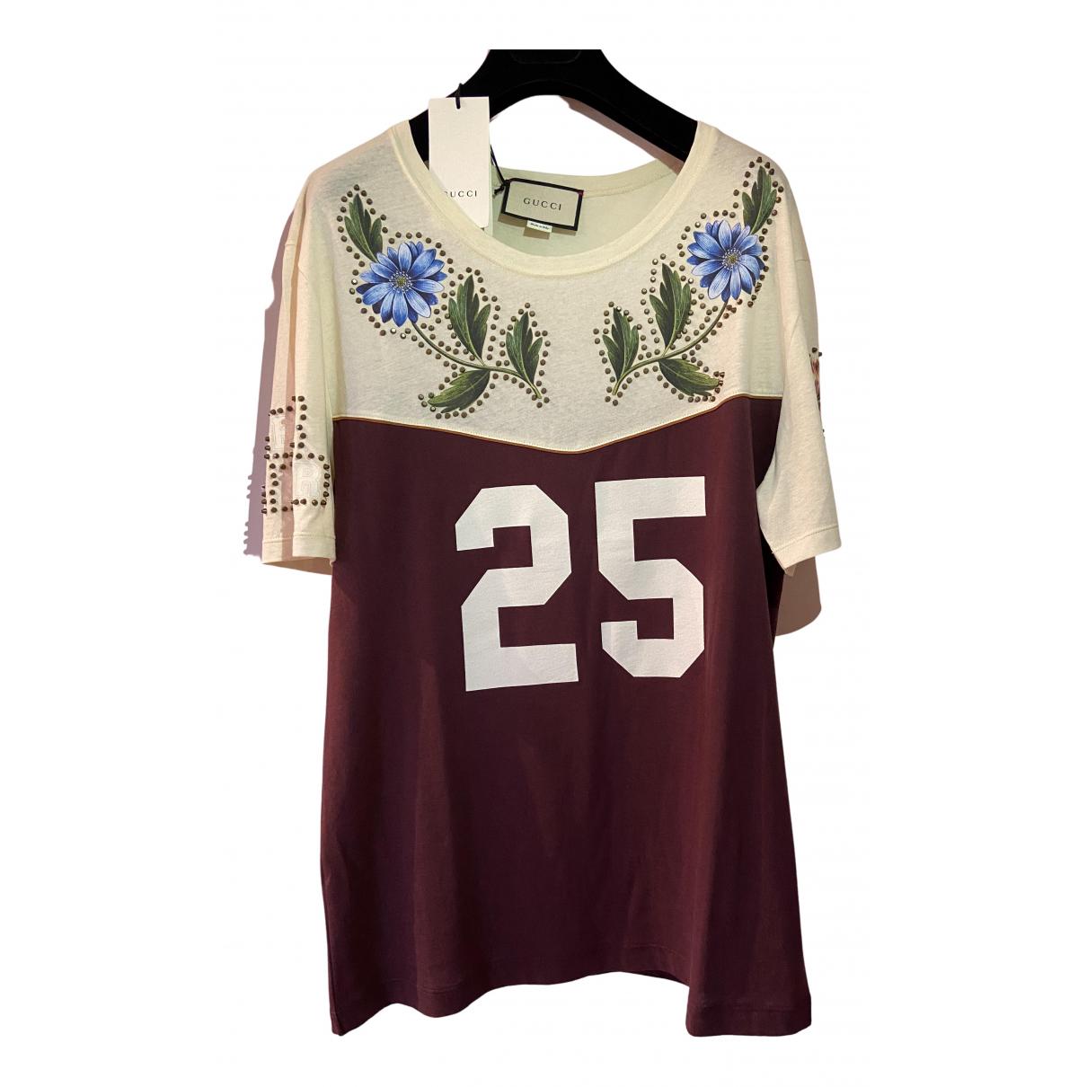 Gucci - Tee shirts   pour homme en coton - multicolore