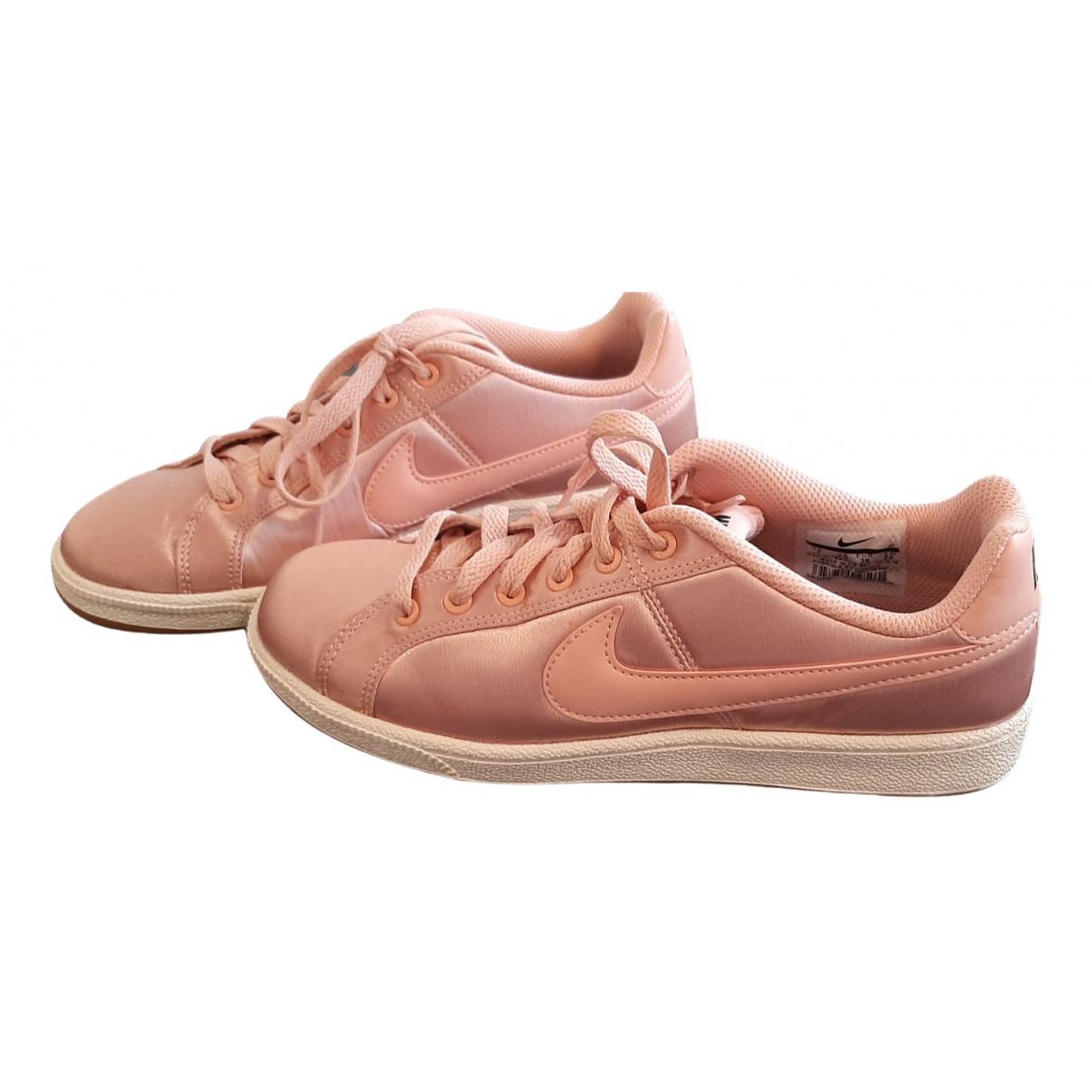 Nike Air Foamposite Pink Faux fur Trainers for Women 38 EU