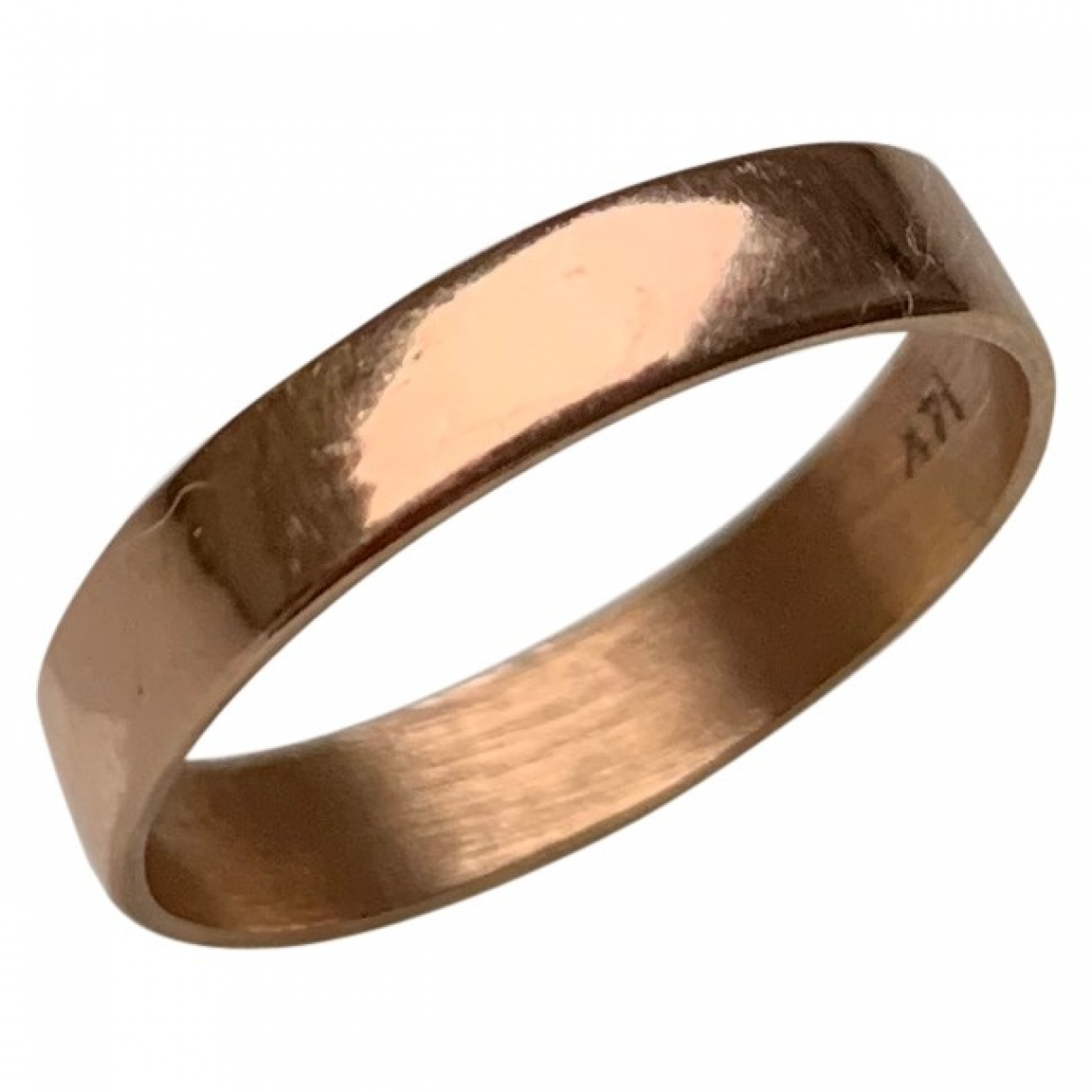 Catbird \N Ring in  Gold Rosegold