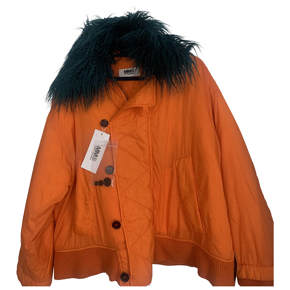 Maison Martin Margiela N Orange jacket for Women 40 FR
