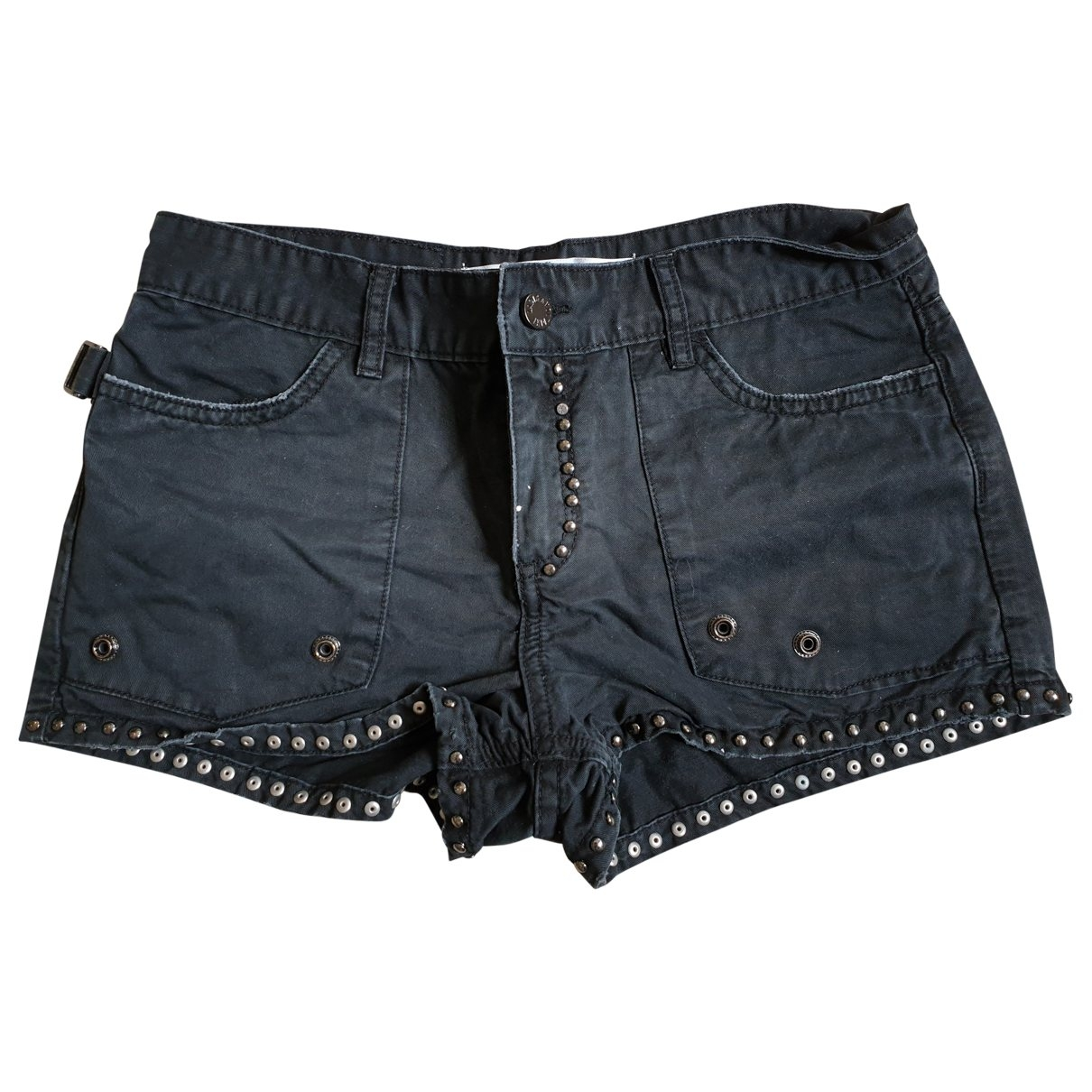 Zadig & Voltaire \N Shorts in  Anthrazit Baumwolle