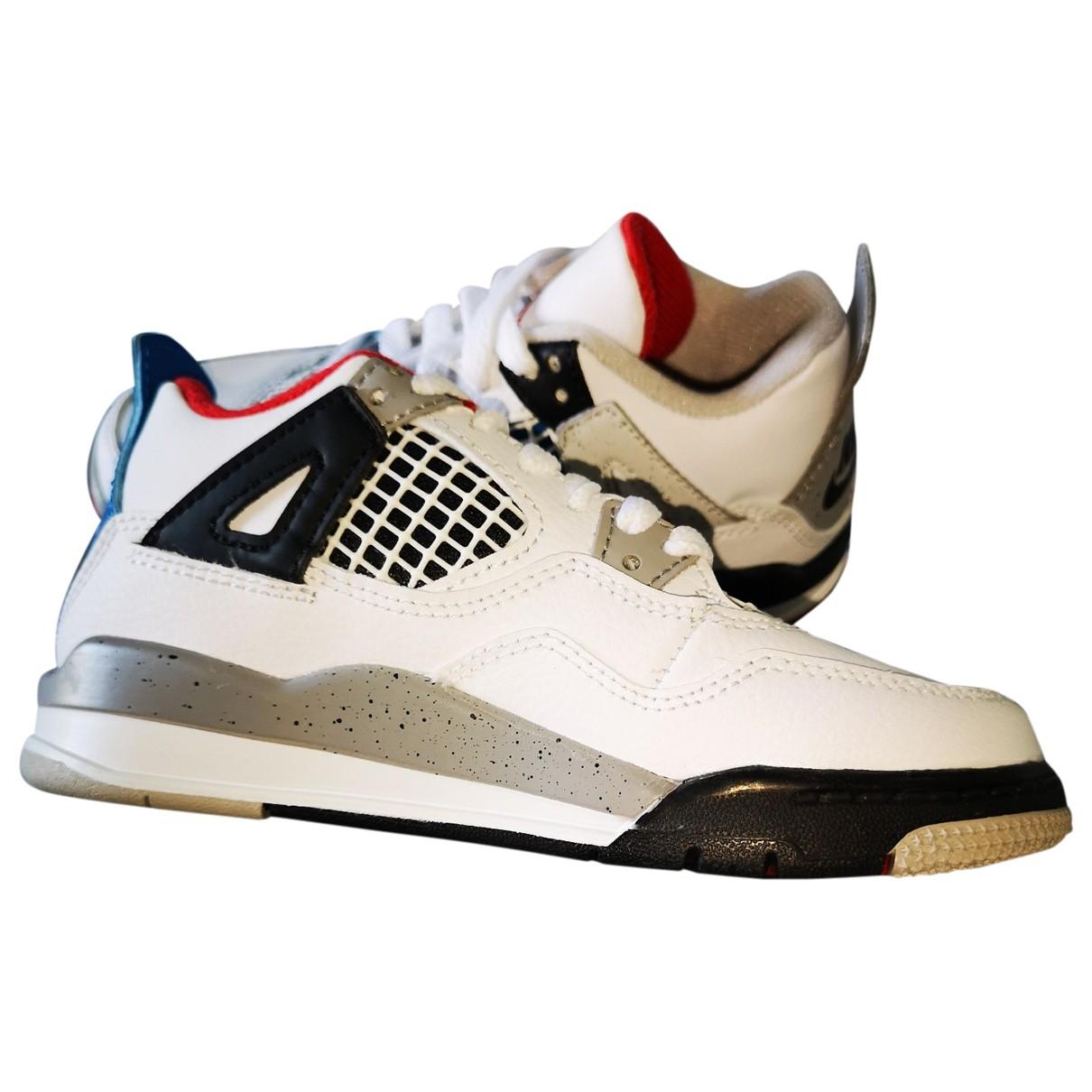 Jordan - Baskets Air Jordan 4 pour enfant en cuir - multicolore