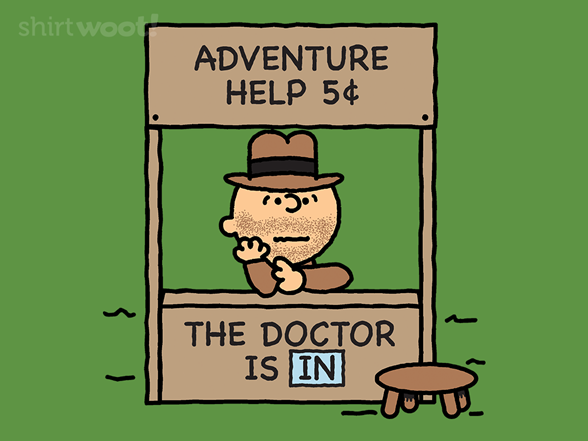 The Doctor Is In T Shirt