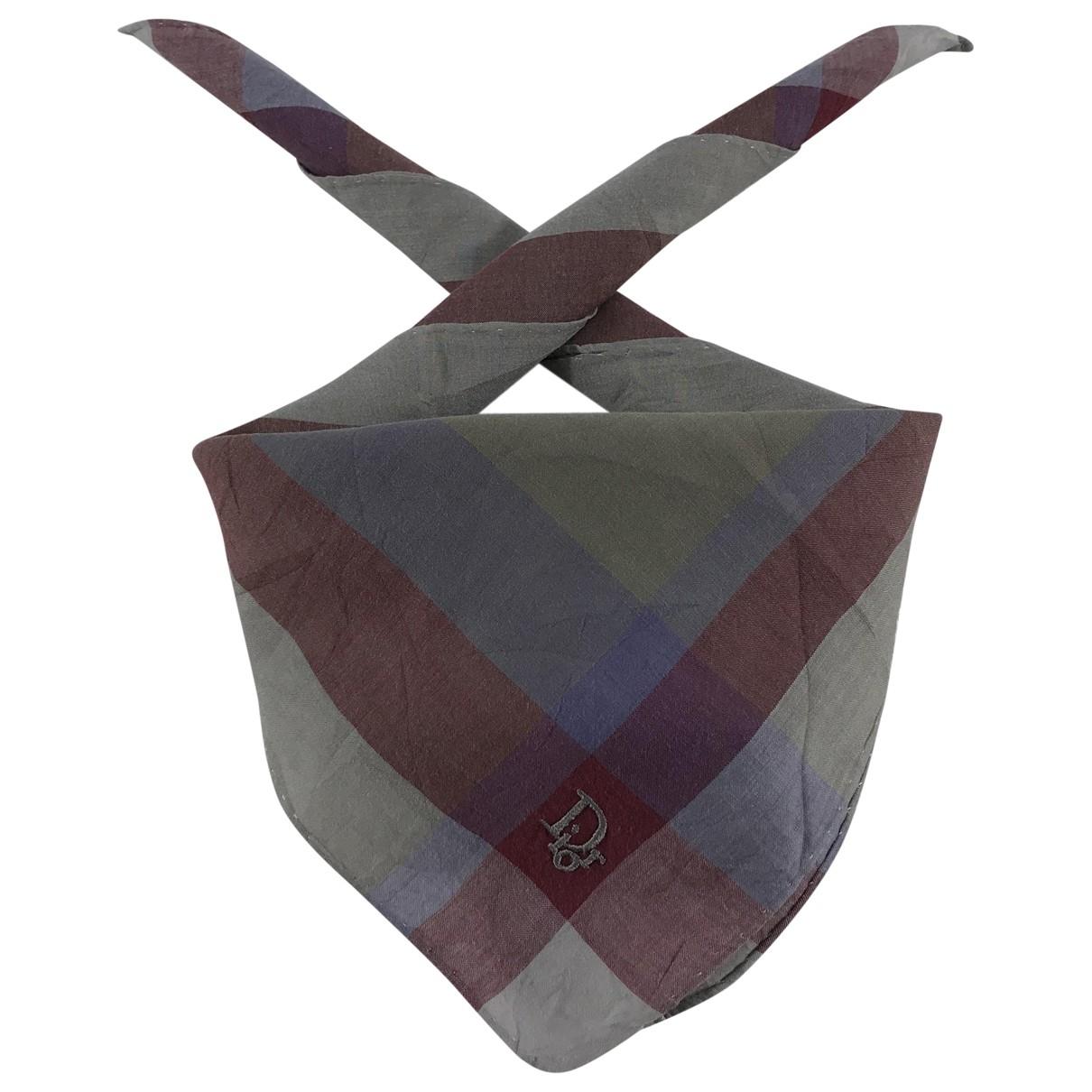 Dior \N Schal in  Bunt Baumwolle