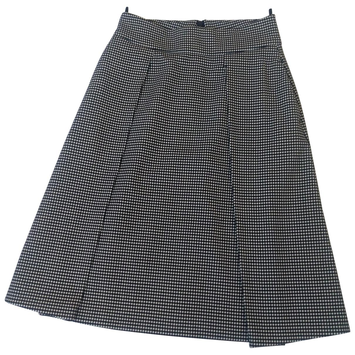Non Signé / Unsigned Oversize Multicolour skirt for Women 34 FR