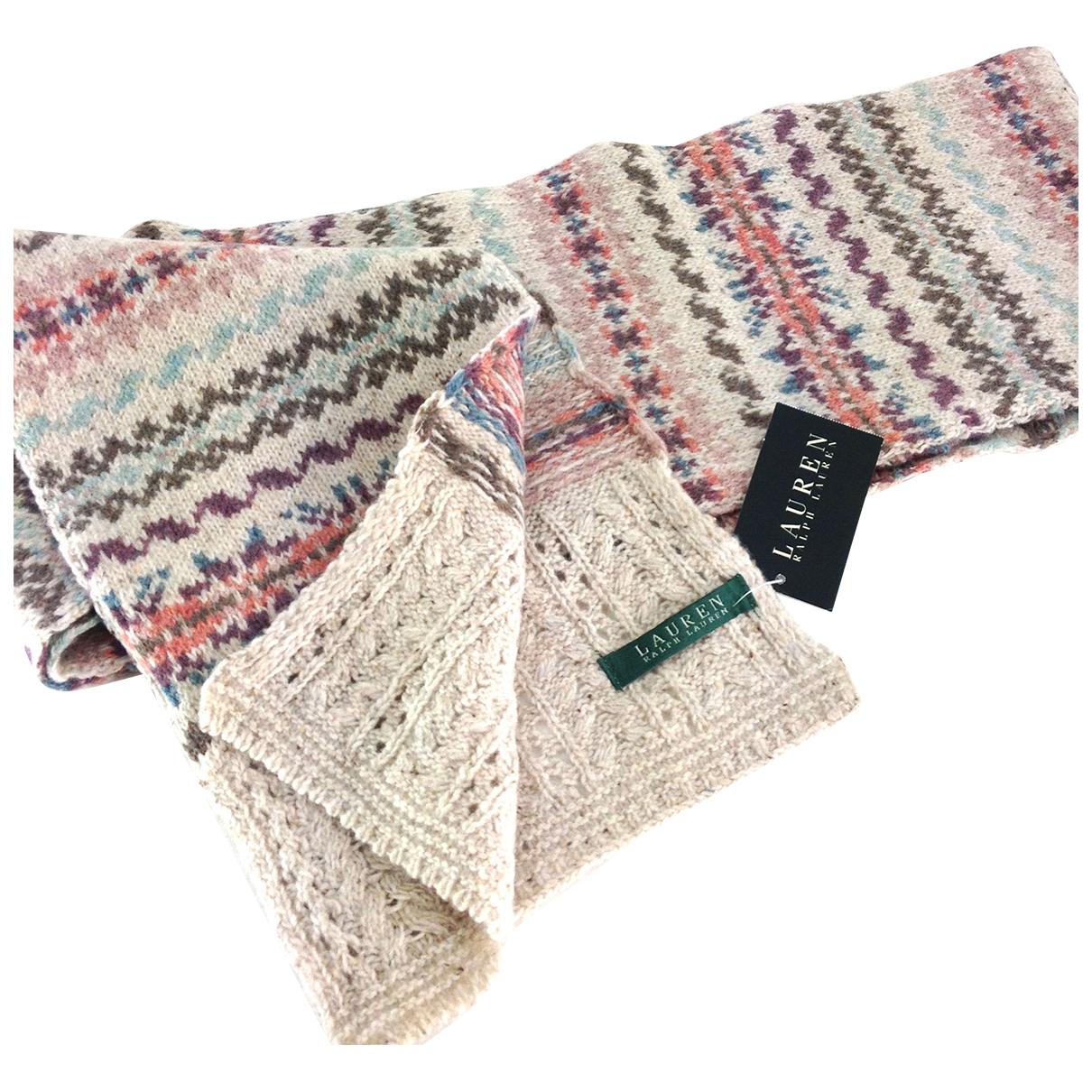 Ralph Lauren - Carre   pour femme en laine - multicolore