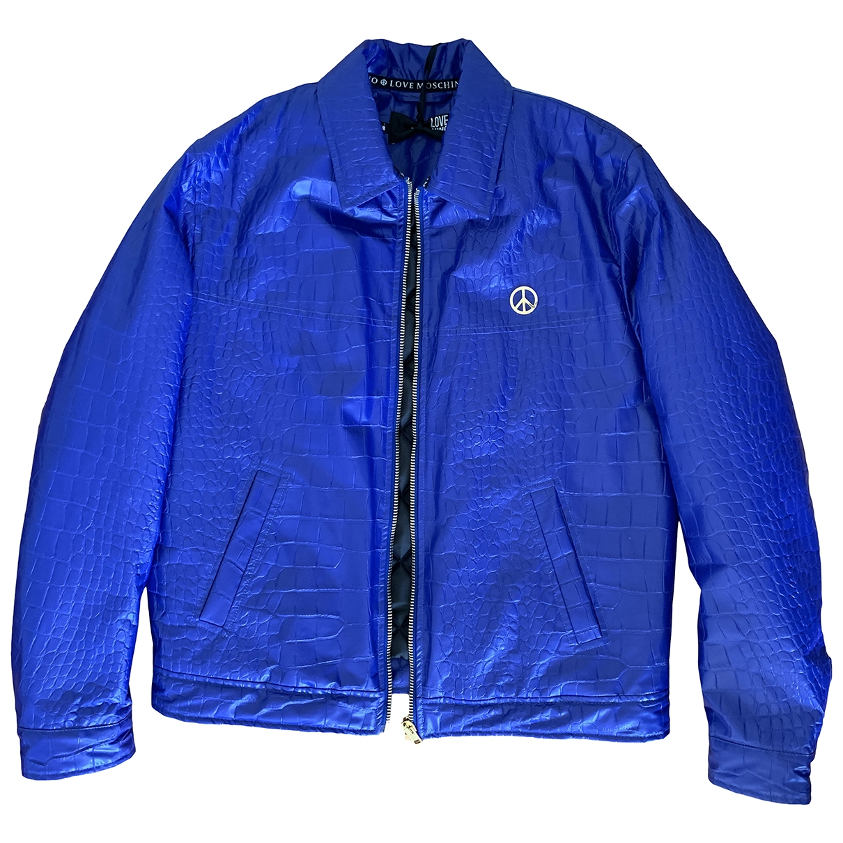 Moschino Love \N Blue jacket  for Men 48 IT