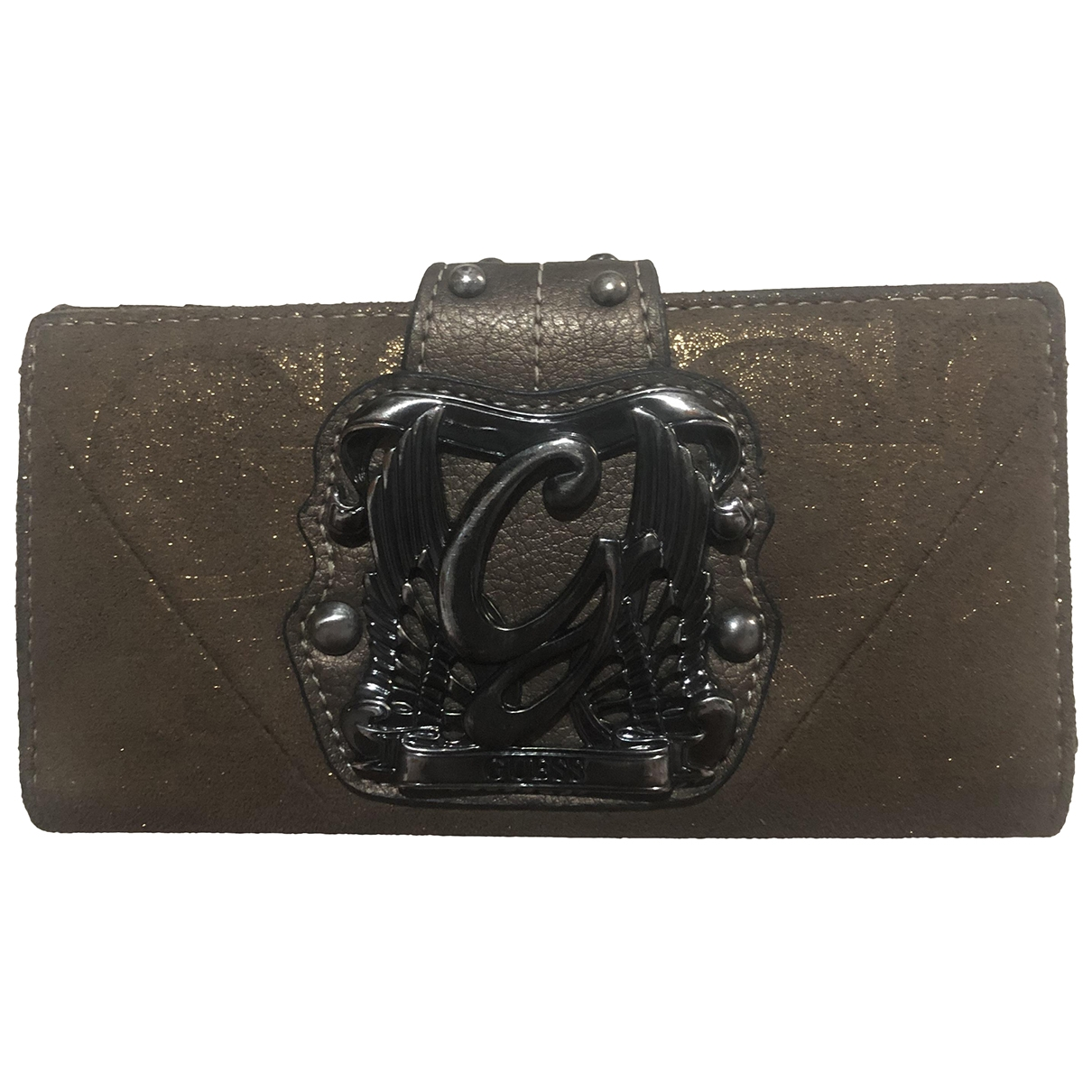 Guess \N Brown Purses, wallet & cases for Women \N